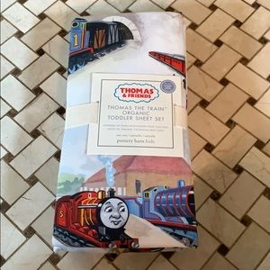 Pottery Barn Kids Thomas & Friends Toddler Sheets